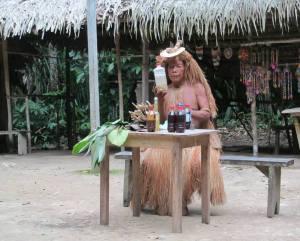 yagua shaman